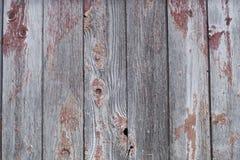 Fondo vertical escalado áspero envejecido del granero de la textura de la pintura de la pared de madera del tablón foto de archivo