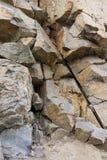 Fondo vertical Pared del granito Rock Imagen de archivo libre de regalías