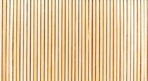 Fondo verticale della striscia della stuoia di bambù Fotografia Stock Libera da Diritti