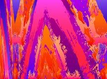 Fondo vibrante del extracto de la pintura del vector Fotografía de archivo libre de regalías