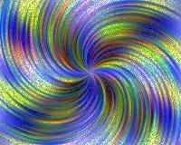 Fondo vibratorio en colores pastel con las pequeñas burbujas azules stock de ilustración