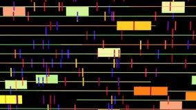 Fondo video del ordenador abstracto en la resolución 4k stock de ilustración