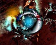 Fondo VIII del fractal Imagen de archivo libre de regalías