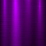Fondo violeta de la tecnología del metal Fotos de archivo