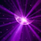 Fondo violeta del partido Imágenes de archivo libres de regalías