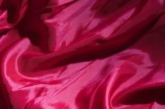 Fondo violeta del satén Foto de archivo libre de regalías