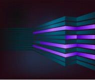 Fondo virtual de la tecnología. EPS 10. Ilustración del Vector