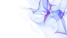 Fondo virtuale futuristico di tecnologia, cavi ottici virtuali della fibra, collegamento della fibra, concetto di telecomunicatio Royalty Illustrazione gratis