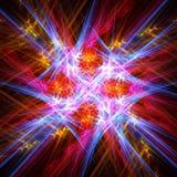 Fondo vivo brillante del fractal del extracto foto de archivo libre de regalías