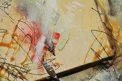 Fondo vivo della pittura a olio Fotografie Stock