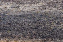 Fondo vulcanico sull'isola di Lanzarote Fotografie Stock