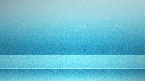 fondo vuoto blu astratto in bianco dello studio 3d Esposizione del podio con lo spazio della copia per esposizione di progettazio immagini stock libere da diritti