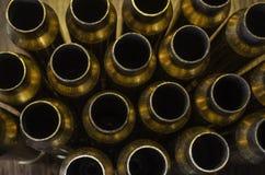Fondo vuoto delle intelaiature della pallottola Immagini Stock Libere da Diritti