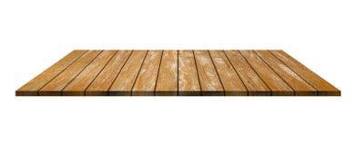 Fondo vuoto di legno del tek Fondo di legno del piano di appoggio Natur fotografia stock libera da diritti