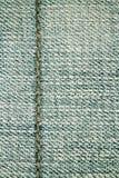 Fondo y costura de la textura de los vaqueros para el área de texto Foto de archivo