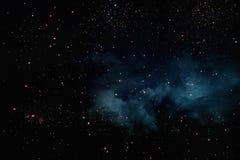Fondo y extracto Galaxia, nebulosa y textura estrellada del espacio exterior fotos de archivo