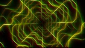 Fondo y línea hermosos abstractos 3d almacen de metraje de vídeo