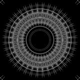 Fondo y líneas abstractos blancos y negros Fotos de archivo