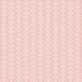 Fondo y modelo japoneses de la onda r Elementos de la onda Color coralino de vida Pantone 2019 foto de archivo libre de regalías