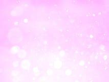 Fondo y textura abstractos rosados del bokeh Foto de archivo