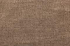 Fondo y textura de la arpillera Fotos de archivo