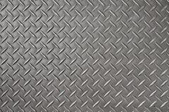 Fondo y textura de la placa del diamante del hierro fotos de archivo