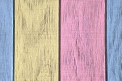 Fondo y textura de madera del vintage con la pintura de la peladura Fotografía de archivo