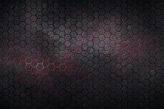 fondo y textura del hexágono Fotos de archivo libres de regalías