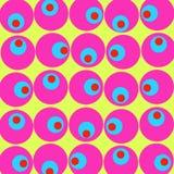 Fondo y textura del ojo Fotografía de archivo libre de regalías
