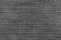 Fondo y textura negros de la mezclilla Foto de archivo