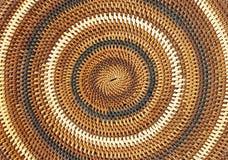 Fondo y textura tejidos hermosos del bastón foto de archivo