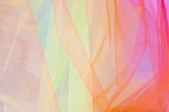 Fondo y texturas abstractos coloridos #3 de Tulle fotos de archivo libres de regalías