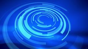 Fondos abstractos azules del holograma ilustración del vector