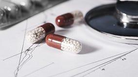 Fondos abstractos de la medicina Imagen de archivo