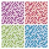 Fondos abstractos de la teja de mosaico Imagenes de archivo