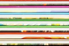 Fondos abstractos de las cubiertas de libro del color foto de archivo libre de regalías