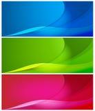 Fondos abstractos del color Foto de archivo