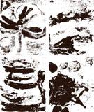 Fondos abstractos del grunge ilustración del vector
