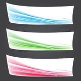 Fondos abstractos del vector del color Fotografía de archivo