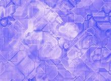 Fondos abstractos futuristas de la tecnología Fotografía de archivo