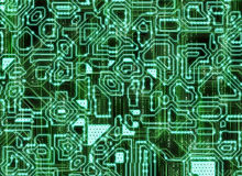 Fondos abstractos futuristas múltiples digital alise la textura foto de archivo libre de regalías