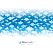 Fondos abstractos geométricos de la arquitectura Imagen de archivo libre de regalías