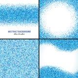 Fondos azules abstractos del vector libre illustration