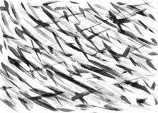 Fondos blancos y negros abstractos de los artes de la pintura Fotografía de archivo