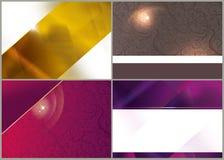 Fondos brillantes abstractos Fotografía de archivo