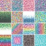 Fondos coloridos del azulejo Foto de archivo libre de regalías