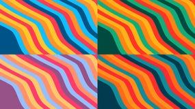 Fondos coloridos del diseño Foto de archivo