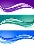 Fondos coloridos elegantes abstractos fijados libre illustration