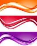 Fondos coloridos ligeros abstractos fijados libre illustration
