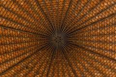 Fondos de Asia del modelo del tejado hermosos en el pabellón Fotografía de archivo